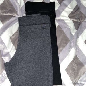 NWT PINK LEGGING DUO